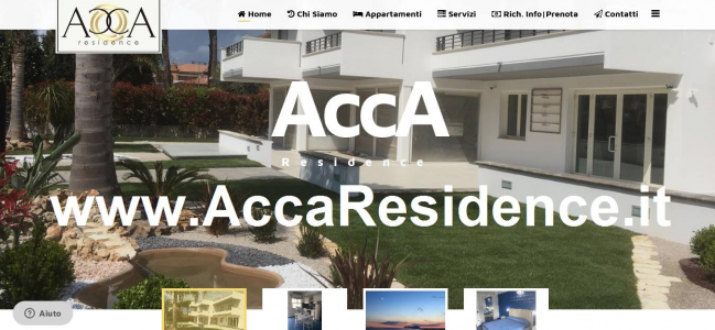 WWW.ACCARESIDENCE.IT - NUOVO SITO DI ACCA RESIDENCE A TERRACINA (LT)